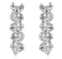Unique Design AAA grade zircon Earrings Wedding Bridal Women Gift Jewelry