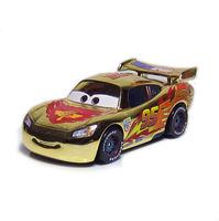 Pixar Cars GOLD CHROME Hudson Hornet Piston Cup Lightning MQ Diecast Loose