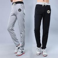 Hot 2015 Fashion Personality Trousers Hip Hop Sports Loose Size Cotton Pants Hip Hop Long Plus Size Running Sweatpants