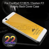 For CoolPad F2 8675 Luxury Mobile Phone High Quality Battery Back Cover Case For Coolpad Dashen F2 Cell Phone shell
