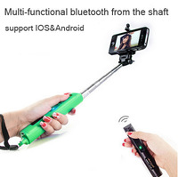 Bluetooth Extendable Selfie Handheld Stick Monopod Holder For iPhone Samsung HTC Free Shipping