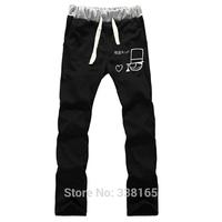 NEW Detective Conan Kid the Phantom Thief Kaitou Kiddo Cosplay Trousers cotton loosesport pants Anime peripheral for men&women