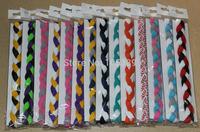 2015 New arrival Non Slip Grip women and men sports fashion Braided mini Headbands free shipping