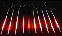 [Seven neon]Free shipping red AC110-220V 3meters 10pcs/set 20W 80cm long 78leds/pcs 3528led smd led meteor tube light