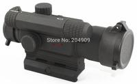 Vector Optics Tempest 1x 35mm Hunting Red Dot Scope Reflex Gun Sight with Flip-up Caps Fit Weaver Rail