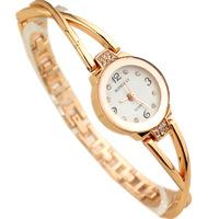 New Arrival Stylish Bracelet Ladies Wristwatches Analog Alloy strap Rhinestone Watch for girls Fashion Women Quartz Watches