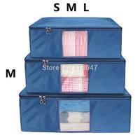(M) Fashion clothes Storage organizer & Container Oxford Storage bags storage cases Quilt bag