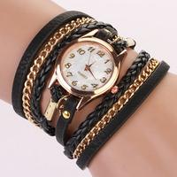 Hot-selling the new type watches Fashion watches for women Quartz casual watch weaving women dress wristwatch Reloj MujerXR388
