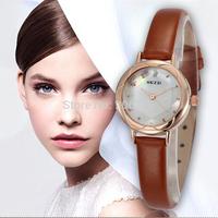 2015 Watches Women Fashion Luxury Watch Female Quartz Clock Ladies Thin Strap Nice Dial Rhinestone Wristwatch Relogio Feminino