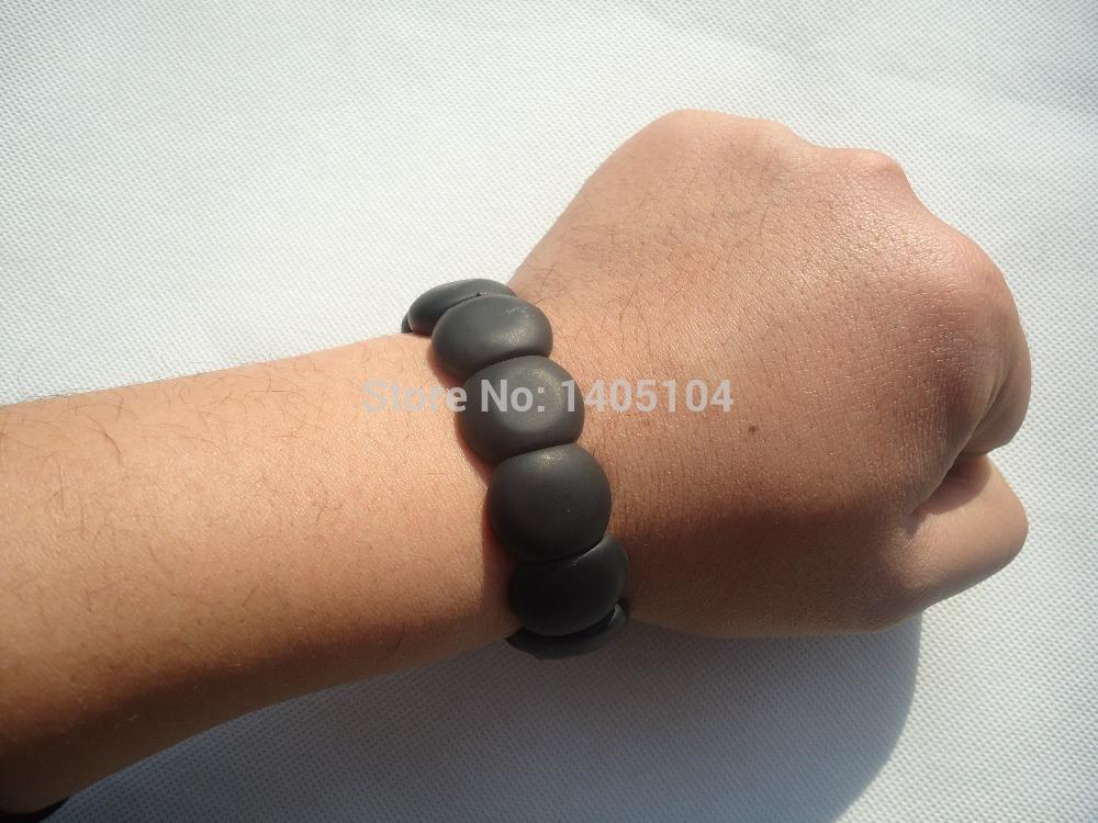 5а класс мужчины натуральный камень игла вручную ряд браслет / бянь камень браслет / здравоохранение