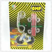 OMP Universal Racing Car Alloy Bonnet Hood Pin Lock Kit Down Hood Locks Pins