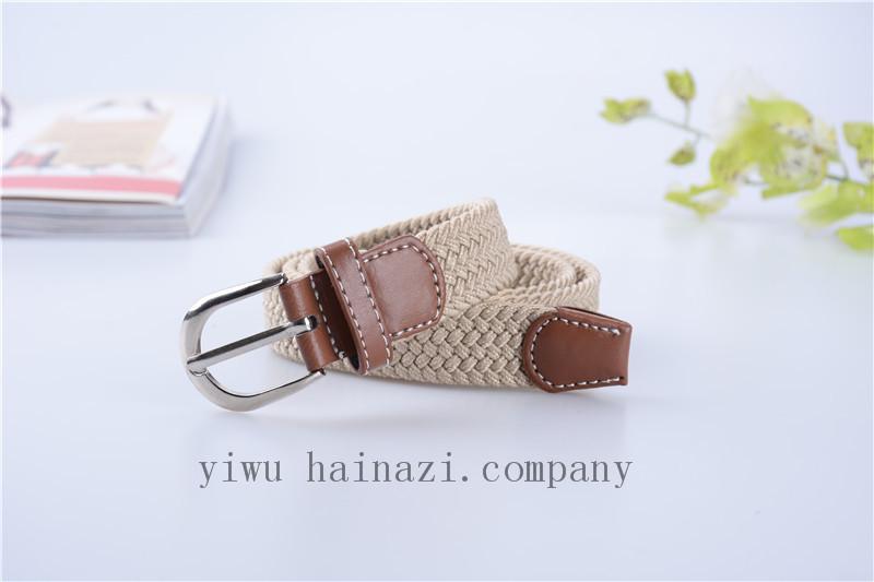 Good News! Factory Promotion Belts Many Color Supply Children Belt New Elastic Khaki Belt(China (Mainland))