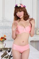 Free shipping HOT New 2014 One-piece seamless bras push up bra set sexy underwear set women underwear bra brief sets