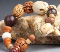 OMH wholesale mix jewelry  natural wood, the bodhi bead Men and women bracelet bracelet SZ64