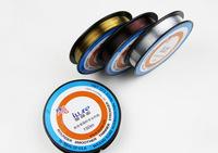 Free Shipping 3pcs/lot Transparent Fluorocarbon Fishing Line 150m 0.4#/0.10mm---5.0#/0.37mm line fishing