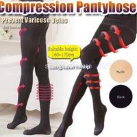 Fashion Ladies' Beauty Slim Leg Shaper Compression Burn Fat Thin Socks Pantyhose