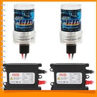 1pair! Waterproof H3 6000K HID Xenon Car Headlight Bulb Car Headlamp Ballast Conversion Kit Support Anti-vibration