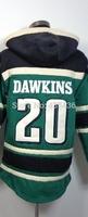 Philadelphia #20 Brian Dawkins Jerseys Hoodies,Mens Winter Sport Hoodies,Double stiched American Authentic Football Sweatshirt