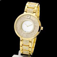 2014 New Arrivals Swan rhinestones Famous Brand Watches Women Fashion Luxury Watch With Logo clock Diamond Lady Watches