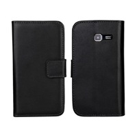 New Luxury Leather Case For Samsung Galaxy Trend Duos II duos 2 S7572 Cell Phone Cases Stand Card Slots Cover