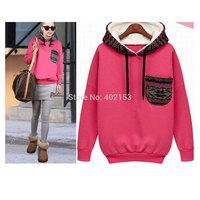 New Fashion Women Sweatshirt Warm Hoodies Sport Suit Women#25377010