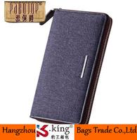 B.King Pabojoe Brand Men Wallets Famous Brand Canvas Wallet With Coin Pocket , Long Desigual Carteira Masculina Couro De Marca