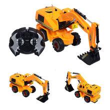 """10"""" fernbedienung bagger modell Ausgrabung Engineering Auto-Projekt serie spielzeug Kindes geschenk weihnachtsgeschenk kindspielzeug(China (Mainland))"""