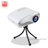 New White Pico Mini LED Portable Projector, for Home Cinema, Video Games, Support AV TV VGA HDMI SD USB, for XBOX, PS3, etc