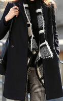 2015 women's winter new woolen korean style  long coat