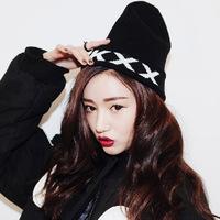 HOT!!!fashion winter hat  the Korea KKXX Monogram embroidery Harajuku  wind black hip-hop pointy hat   free shipping