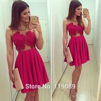 2015 Women Ropa Sexy Fashion Lace Crochet Floral Dresses Mesh Patchwork Vestidos Plus Size Bodycon Mini Chiffon Club Party HBQ60