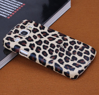 1pc Leopard Skin Hard Case Protective Cover for Samsung Galaxy Core i8262 i8260 Case,free shipping