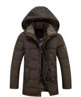 2014 casual down men winter jackets down-jacket white duck down coat winter jacket men parka men cotton jacket vestidos gife