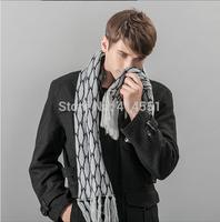 New men scarf Autumn winter Mulberry silk plaid scarf 135*175CM scarf Men's scarf shawl shawl Long Scarves men free shipping