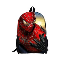Free Shipping! Good quality Spider-Man schoolbag Story students and children cartoon Backpack