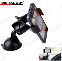 Universal car phone holder Dvr Holder Windshield Mount Bracket Mobile Phone Holder Rotating 360 Degree suporte para celular