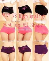 2014 New Fashion Bamboo Fibre Plus Size Panties Seamless Panty Women Big Size Briefs High Waist Ladies' Underwear Women