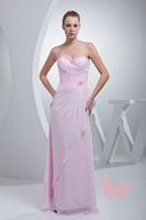 Pink elegant Strapless Prom Dresses