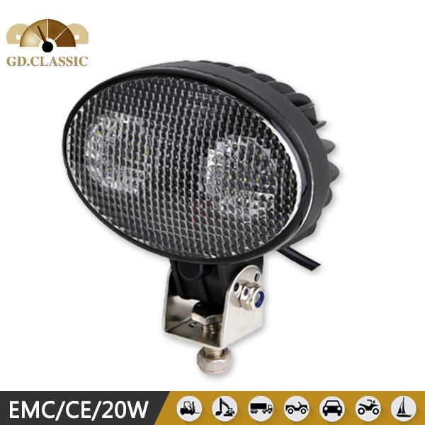 work lamp Aluminium 20W led work light round,4x4 led driving lights(China (Mainland))