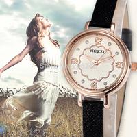 2015 Reloj Mujer Women Dress Watch Fashion Sport Quartz Clock Leather Strap Watches Ladies Wristwatches montre femme