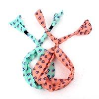 New 10 Colors Women Cotton Headband Cute Dot/ Striped Headwear Hair Accessories 10pcs/lot Promotions Wholesale  FS401