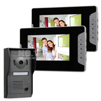 Quality 7 inch Monitor Color Video Door Phone Doorbell Intercom System Kit Hand Free Waterproof IR Night Vision Camera