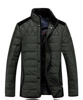 2014 casual down men winter jackets down-jacket white duck down coat winter jacket men parka Business jacket vestidos