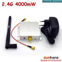 Hot sale! Original Sunhans 2.4G 4000mW wifi signal ampifier (SH24Gi4000)