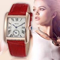 2015 KEZZI Brand Leather Strap Watches Women Dress Watch Relogio Feminino Waterproof Ladies Watches Fashion Wristwatches