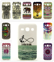 Beautiful Anchor Owl Elephant, etc. Pattern TPU Back Cover Case for Samsung Galaxy Core Plus G3502 G3500 G3508 G3509 22 Styles