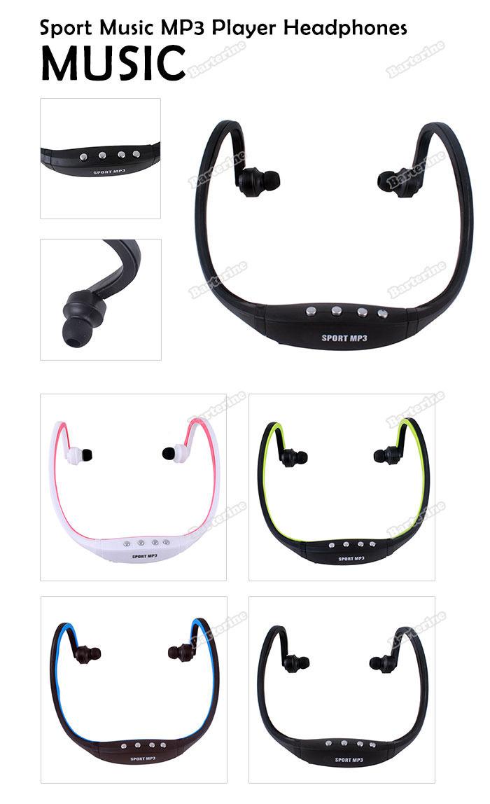 tradefun 2014 New Sale Sport Wireless Earphones Headphones Music MP3 Player TF Card FM radio Headset secure(China (Mainland))