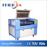 Low price Philicam 60w/80w CO2 laser machine 6090/ laser cutting machine 9060