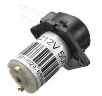 NEW DC 12V DIY  Dosing pump Peristaltic dosing Head For Aquarium Lab Analytical water