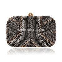 Chain style Women's mini evening bag fashion clutch banquet bag girls shoulder bag dinner bag 50019